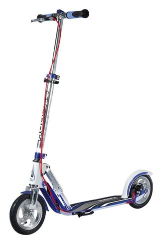 Дертовый самокат Hudora Big Wheel Air 205 Dual Brake (синий)