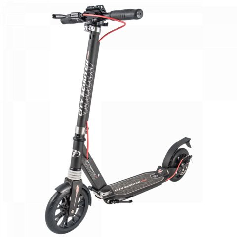 Самокат Tech Team ТТ City Scooter Disk Brake (2019) черный