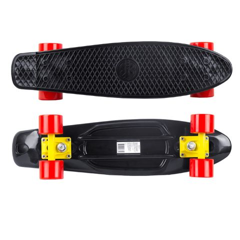 Скейтборд MC Plastic Board small Black