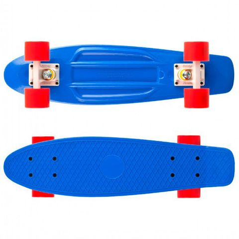 Скейтборд MaxCity Plastic Board small blue